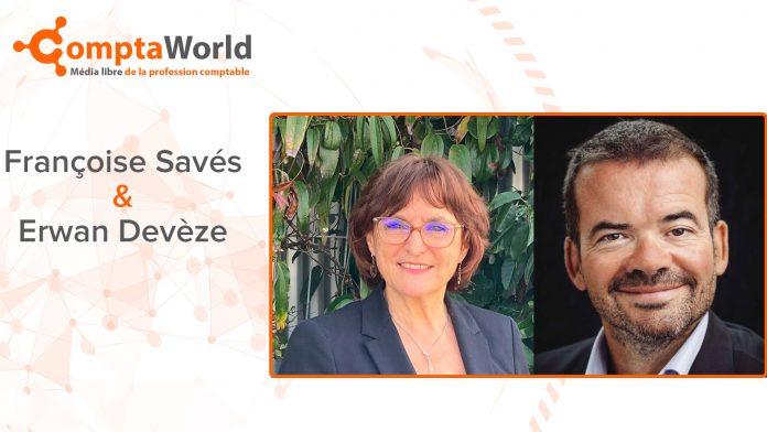 Françoise Savés et Erwan Devèze